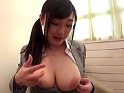Japanese milf likes to do naughty stuff