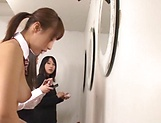 Ayami Shunka enjoys the taste of a stiff cock