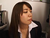 Beautiful vixen Gotou Saki  in amazing blowjob fun