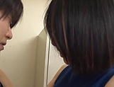 Naughty office lady Eri Itou fucks a co worker picture 15