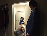 Naughty office lady Eri Itou fucks a co worker