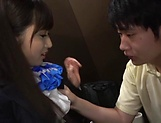 Intense titty fuck for luscious Kawasaki Arisa picture 12