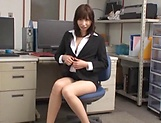 Hardcore lady enjoys office sex with boss picture 13