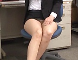 Hardcore lady enjoys office sex with boss picture 14