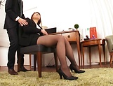 Gotou Saki, gets naughty in the office