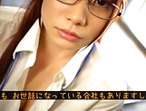 Sexy honey Hagesawa Rui in hardcore pounding scene indoors picture 12