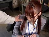 Sexy honey Hagesawa Rui in hardcore pounding scene indoors picture 14