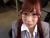 Sexy honey Hagesawa Rui in hardcore pounding scene indoors picture 15