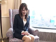 Sweet Japanese woman got pussy licking