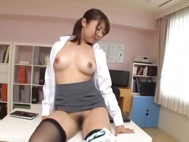 Supreme Japanese dick porn with a sexy woman