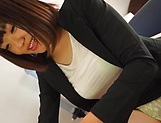 Mature milf Suzuki Risa getting freaky with a workmate