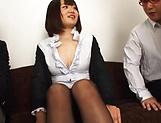 Firm tits honey Suzuki Risa in kinky hardcore foursome