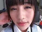 Sexy Ona Moe enjoys office hardcore with the new guy