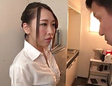 Kase Kanako is a smoking hot office lady