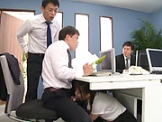 Fresh office lady got banged at work
