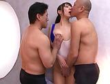 Race queen, Mashiro An had a threesome
