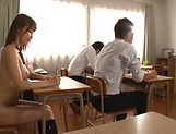 Ayami Shunka fucking with her teacher superbly