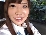 Sazanami Aya gets naughty on her sex toys