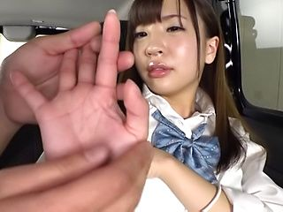 Sazanami Aya gets naughty on her sex toys