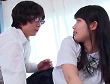 Miyazaki Aya gets naughty on a ramrod