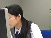 Pussy starved Kootoki Karin in kinky masturbation session