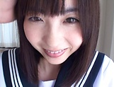 Spicy schoolgirl Ichihara Yume gets her fantasies fullfilled picture 11