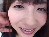 Spicy schoolgirl Ichihara Yume gets her fantasies fullfilled picture 14