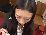 Tokyo schoolgirls show their kinky skills picture 11