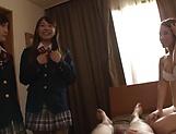 Japanese schoolgirl has gone wild