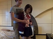 Shiina Sora is a naughty amateur teen