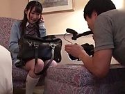 Japanese girl needs hardcore action