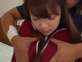 Hikaru Kakitani featured in a kinky hardcore action picture 14