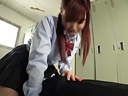 Sweet Hasegawa Rui flaunts her nice ass