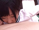 Aihara Tsubasa gets thick cum after harsh sex picture 14
