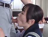 Sensual Ichihara Yume passionately sucking a hard pole picture 12