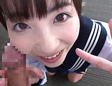 Sensual Ichihara Yume passionately sucking a hard pole picture 5
