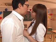 Ogawa Rio featured in exciting hardcore sex