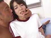 Shirasaki Yuzu ,gets a deserving facial