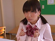 Schoolgirl is fucking to pass the exam