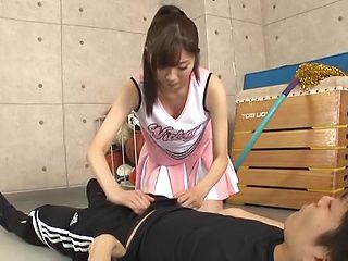 Katou Honoka shows her dick pleasing skills