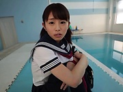 Petite schoolgirl is a real fuck doll