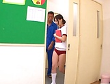 Horny school girl Umi Hirose gets drilled well