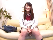 Schoolgirl attends casting for major porn role