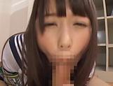 Japanese schoolgirl is having fantasies