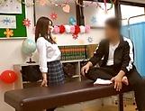 Adorable schoolgirl likes hardcore sex