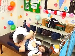 Naughty schoolgirl had hardcore sex