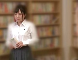 Naughty insatiable schoolgirl Nishino Iroha porn show picture 6