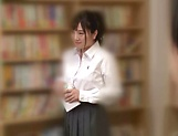 Naughty insatiable schoolgirl Nishino Iroha porn show picture 7