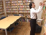 Naughty insatiable schoolgirl Nishino Iroha porn show picture 9