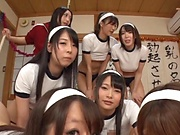 Tokyo schoolgirls love it hard and doggy